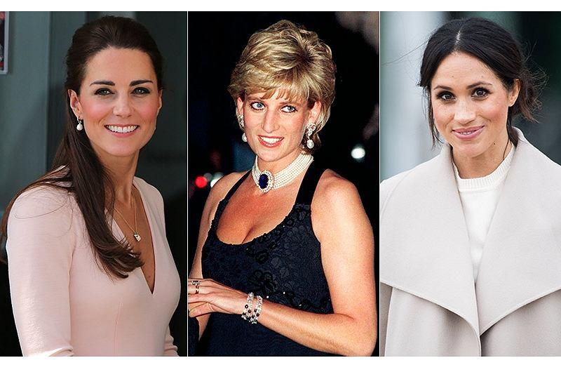Jaką wspólną cechę mają Kate, Diana i Meghan?