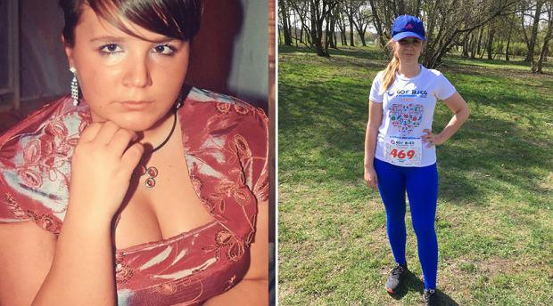 W wieku 18 lat ważyła 90 kg, na biegowych trasach zostawiła już 30 kg!