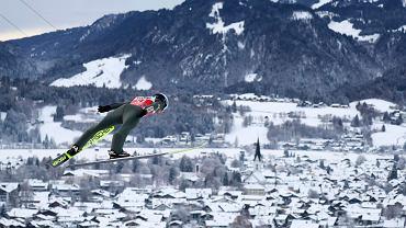 Kamil Stoch w Oberstdorfie
