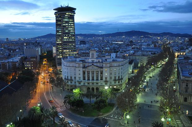 La Rambla Barcelona / Flickr.com Jorge Lascar