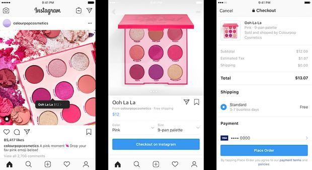 Tak będzie wyglądała ścieżka zakupowa na Instagramie