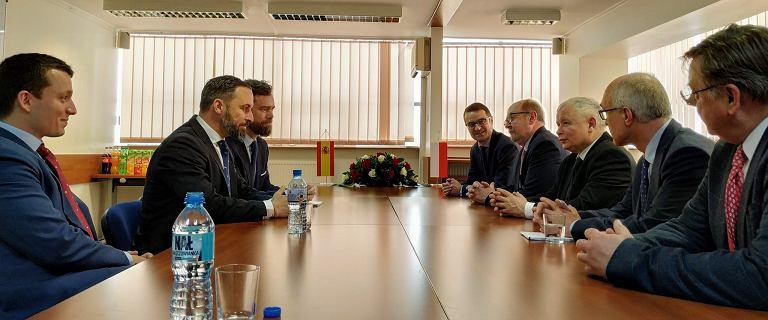 Spotkanie Kaczyński-Abascal. Andrzej Halicki: