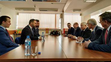 Spotkanie prezesa PiS z liderem partii Vox