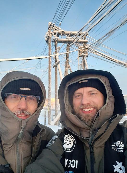 Piotr Marczewski i Valerjan Romanovski