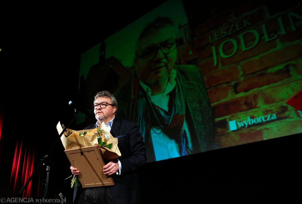 Leszek Jodliński nominowany do Cegły z 'Gazety' - Nagrody im. Janoscha.