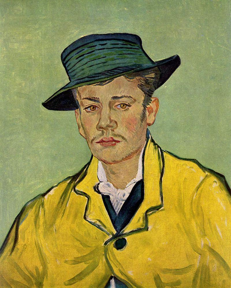Vincent van Gogh. Portret Armanda Roulin, 1988 / Domena publiczna