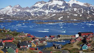 Anomalia na Grenlandii. Przez całą dobę bez mrozu, temperatury wyższe niż w Polsce