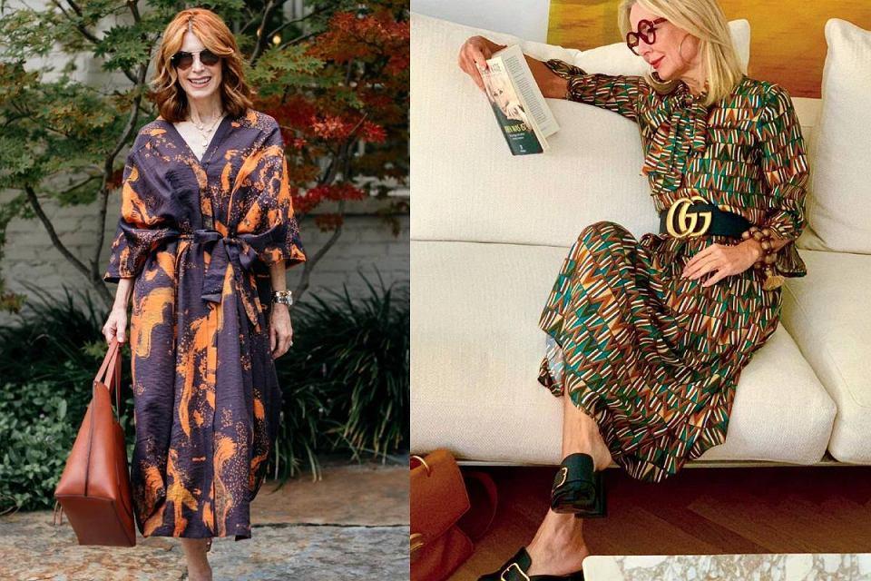 Sukienki z wyprzedaży dla kobiet po 50-tce