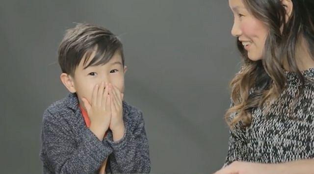 Rodzice informują dzieci, skąd się wzięły w filmie wyprodukowanym przez Cut Video