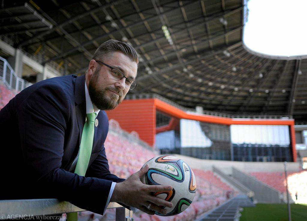 Grzegorz Bednarski, prezes GKS Tychy