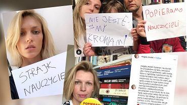 Strajk nauczycieli. Gwiazdy i celebryci popierają protestujących