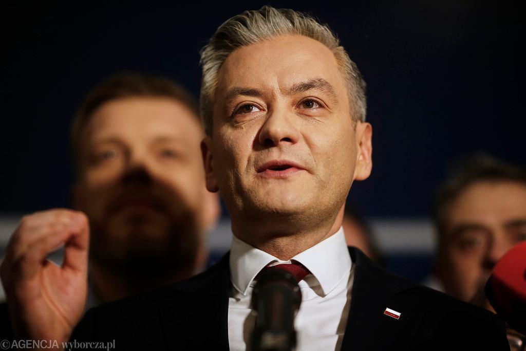 Wybory prezydenckie 2020. Robert Biedroń