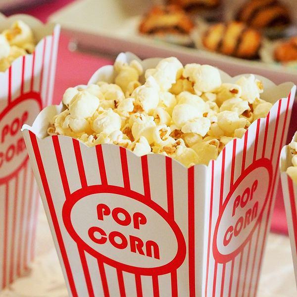 Popcorn w kinie