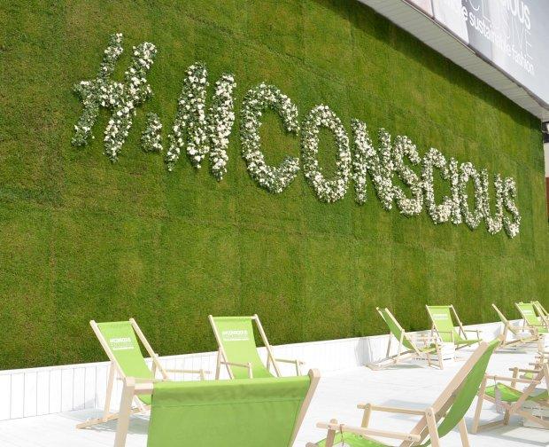 Ekologiczna instalacja H&M w Warszawie