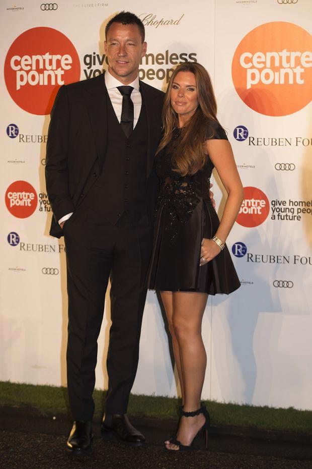 John Terry z żoną Toni