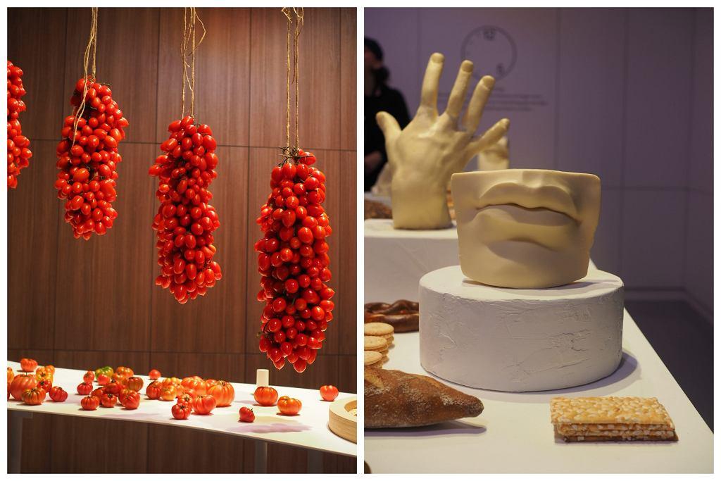 Wystawa stworzona z jedzenia