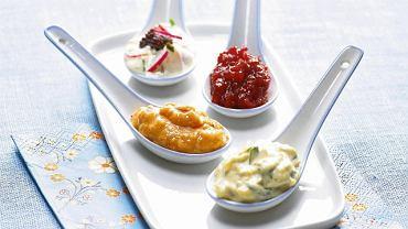 Sosy  idealne na wielkanocny stół - majonezowy, chrzanowy, tatarski i cumberland