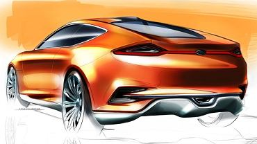 Ford Evos Concept - szkic