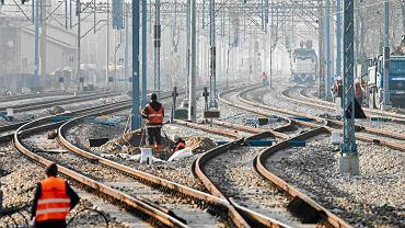 Przebudowa centralnej magistrali kolejowej