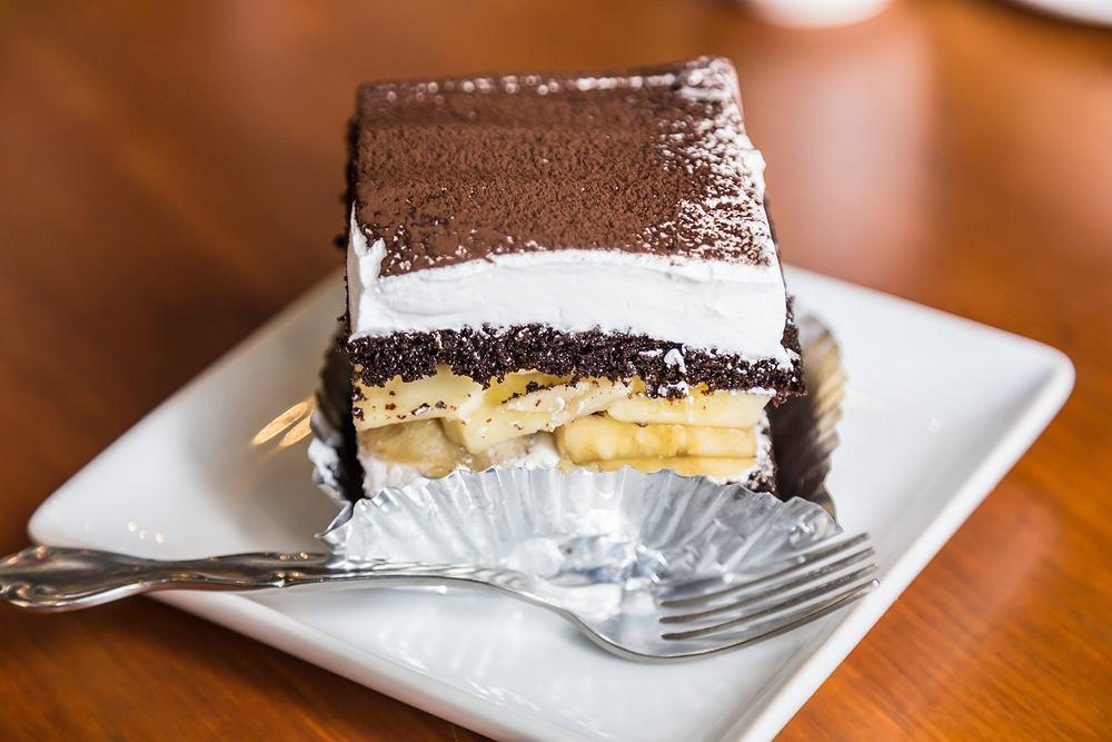 Ciasto jamajka. Zdjęcie ilustracyjne
