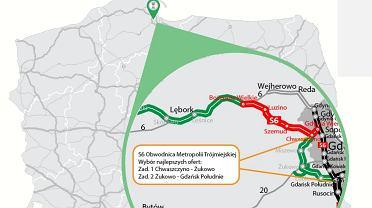 Trasa S6, Obwodnica Metropolii Trójmiejskiej