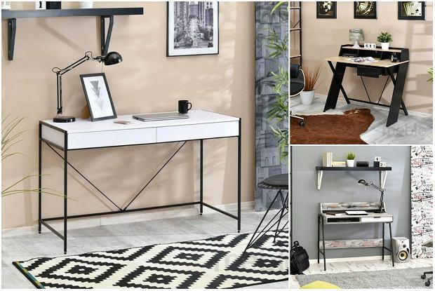 Praktyczne biurka do pokoju dziecka i gabinetu do 500 zł - przegląd