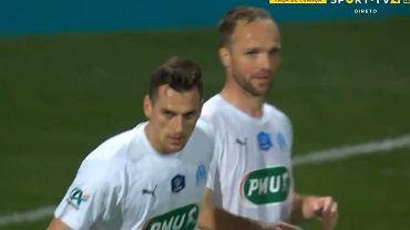 Arkadiusz Milik, Olympique de Marseille, la Coupe de France