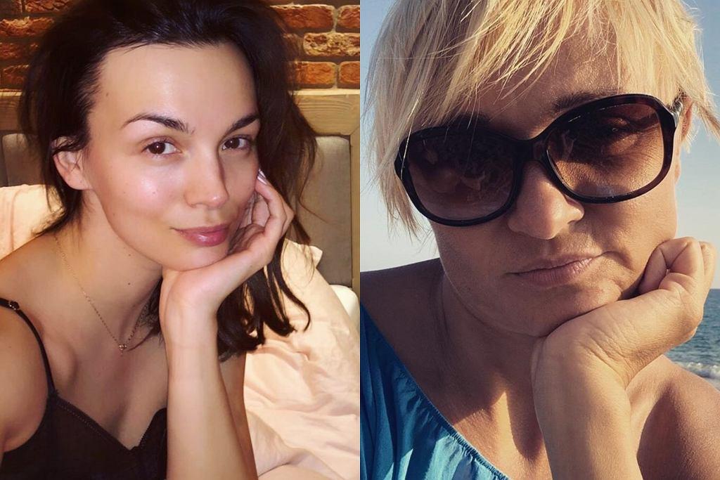 Paulina Krupińska i Edyta Golec