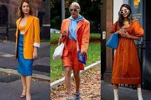 Z czym łączyć pomarańcz? Te kombinacje kolorystyczne pokochały stylistki i dziennikarki modowe!