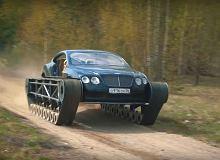 Bentley Continental jako... czołg! Takie rzeczy tylko w Rosji