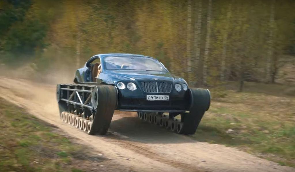 Bentley Ultratank - Bentley Continental GT przerobiony na czołg
