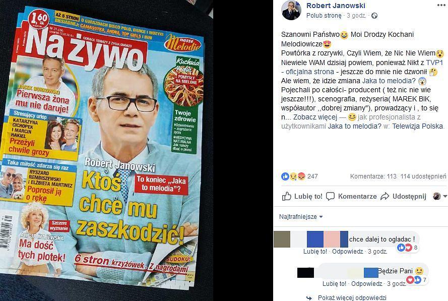 Komentarz Roberta Janowskiego
