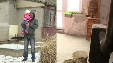 'Nasz nowy dom'. Pan Arkadiusz samotnie wychowuje porzuconą przez matkę 16-letnią córkę. Jego dom przypominał ruderę. Po remoncie dokonanym przez ekipę Katarzyny Dowbor nie mógł uwierzyć w to, co widział.