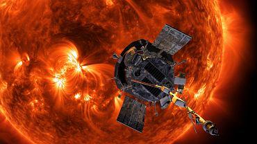 Sonda Parker Solar ma dotrzeć w pobliże Słońca, wizualizacja NASA