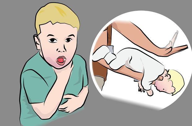 Kiedy dziecko się zakrztusi
