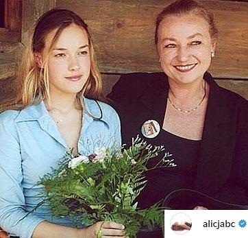 Alicja Bachleda-Curuś z mamą