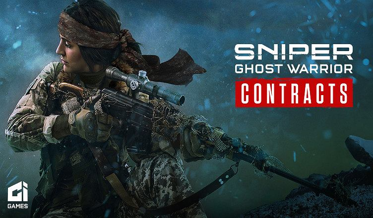 Plakat z gry Sniper Ghost Warrior Contracts
