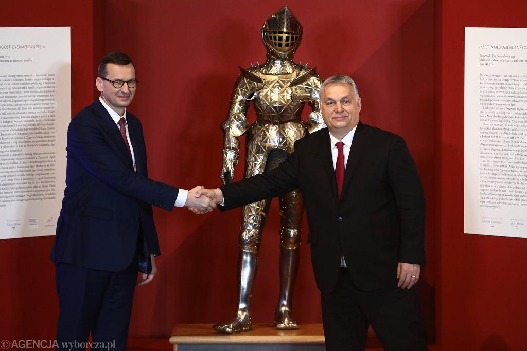 Mateusz Morawiecki i Viktor Orbán spotkają się z premierem Włoch