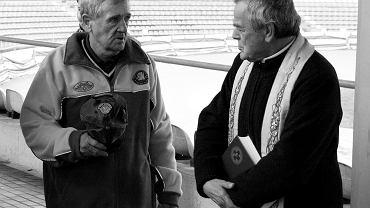 Jerzy Padewski w październiku ubiegłego roku odsłonił swoją tablicę w Alei Sław Stali Gorzów