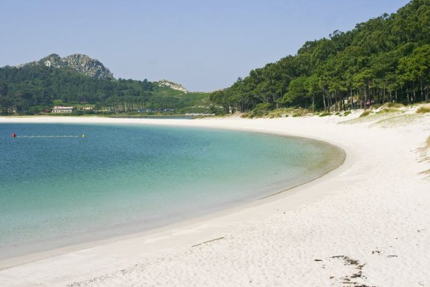 Plaża na jednej z wysp archipelagu Cies/ Fot.Shutterstock