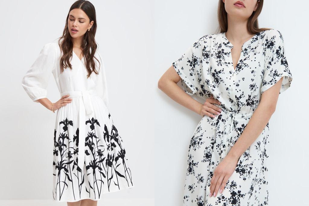 Sukienki midi na wiosnę
