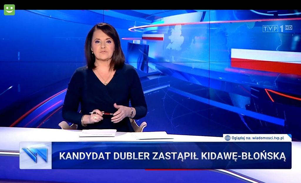 'Wiadomości' TVP z 15 maja