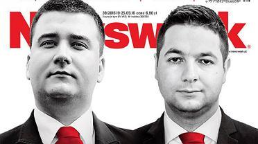 """Patryk Jaki, okładka """"Newsweeka"""""""