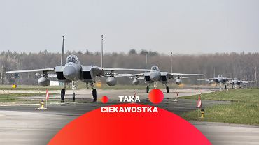 Amerykańskie F-15 w polskiej bazie