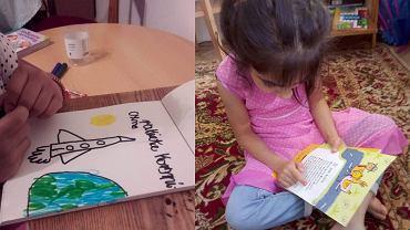 Poszukiwani wolontariusze, którzy pomogą dzieciom uchodźców w odrabianiu lekcji.