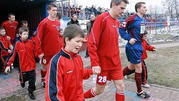 Jacek Magiera w barwach Rakowa Częstochowa