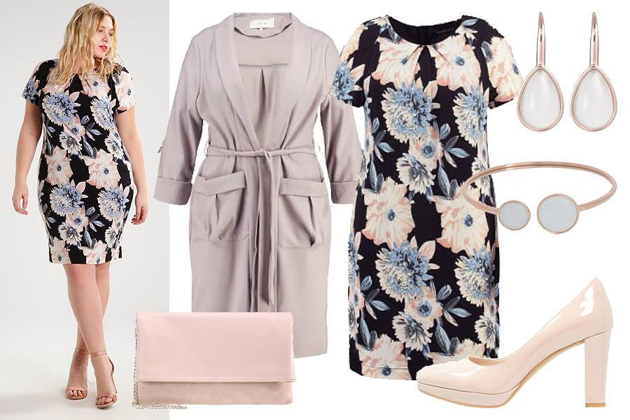 Stylizacja z sukienką / Kolaż / Materiały partnera