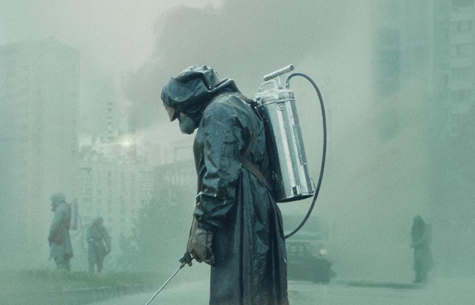 Kadr z serialu 'Czarnobyl'.