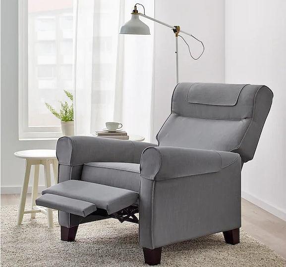 Wygodny fotel rozkładany do salonu