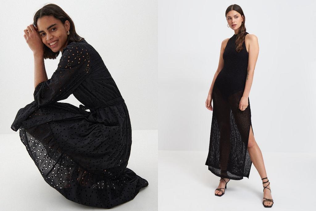 Ażurowe sukienki